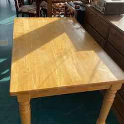Heavy Natural Wood Farm Table for Sale in Lake Forest Park,  WA
