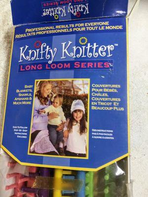 Knifty knitter for Sale in Scottsville, VA