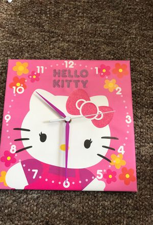 Hello kitty clock for Sale in Aurora, CO