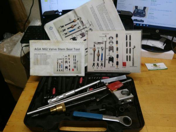 $999.99 - AGA N62 Valve Stem Seal Master's Tool Kit for BMW Engine