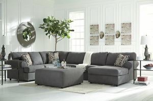 ASHLEY 649 SECTIONAL - STEEL for Sale in Houston, TX