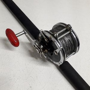 "Pemn 349 Master Mariner Conventional Fishing Reel & Shakespare Ugly Stik BWB 1140 6'6"" 20-50lb Rod. for Sale in Norwalk, CT"