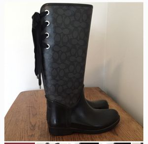 Women's size 9 Coach Boots for Sale in Florissant, MO