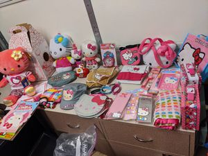 Lot of mostly new Hello Kitty items for Sale in Spring, TX