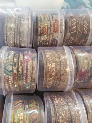 Indian gold plated bangles set for Sale in San Francisco, CA