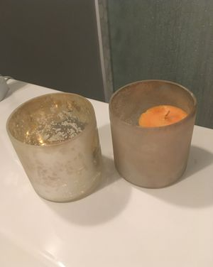 Pottery Barn votive candle holder hurricane for Sale in Seattle, WA