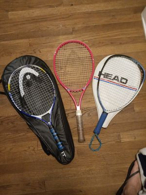 Head tennis racket bundle for Sale in Seattle, WA