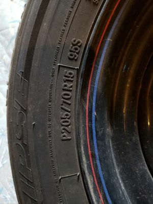 15 inch rims and tires for Sale in Oregon City, OR