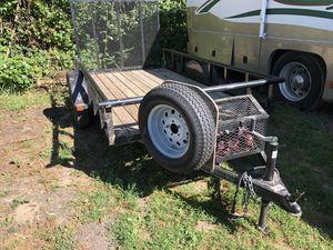 5.5ftx10ft Flat Bed Trailer for Sale in Ridgefield, WA