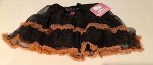 New Hello Kitty Halloween Black Glittery Skirts 3T or 4T for Sale in San Jacinto, CA