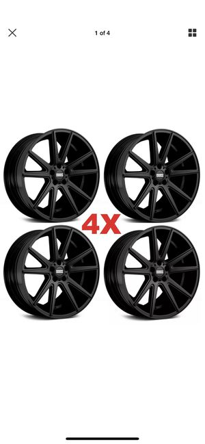 22 Black Wheels Rims Challenger Charger Magnum 300 OE Replicas for Sale in Anaheim, CA