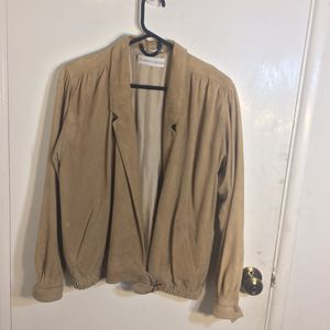 Strenesse Suede Leather Jacket Size 40 for Sale in Los Angeles, CA
