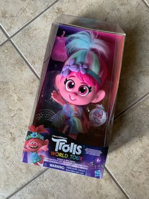 *RARE* Trolls World Tour Giggle and Sing Poppy for Sale in Laredo, TX