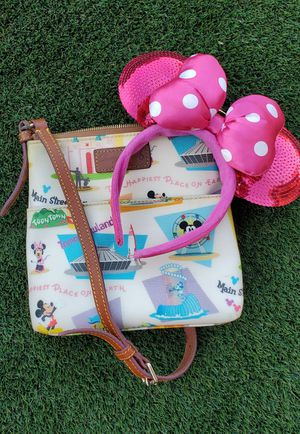Dooney and Burke rare Disneyland Letter Carrier Purse for Sale in Yuma, AZ