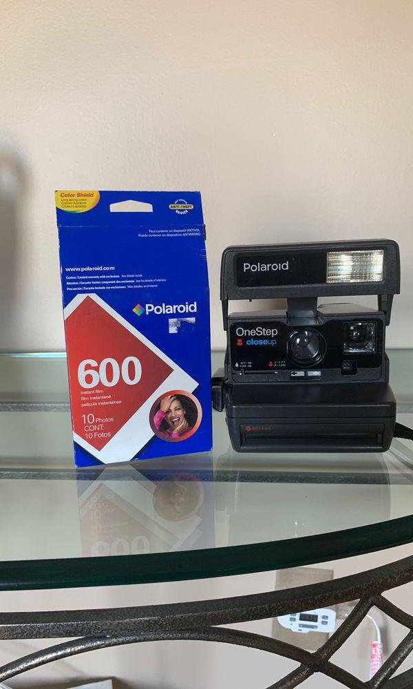 Polaroid One Step Camera with Polaroid Film