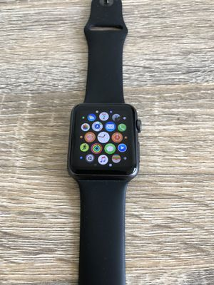 Apple Watch Sport 42 mm 1st gen space grey with original charger for Sale in Jersey City, NJ