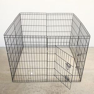 "Brand New $40 Foldable 36"" Tall x 24"" Wide x 8-Panel Pet Playpen Dog Crate Metal Fence Exercise Cage for Sale in Pico Rivera, CA"