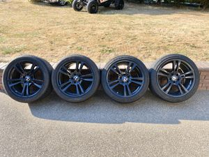 2010-2013 BMW X5M X6M OEM 299 Style Wheels / Tires for Sale in Brush Prairie, WA