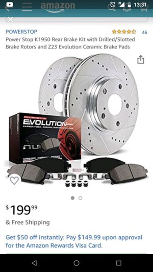 04-09 f150 Powerstop performance brakes and rotors for Sale in Buda, TX