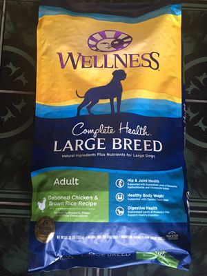 wellness large breed dog food for Sale in Santa Ana, CA