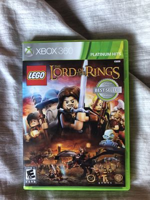 Xbox 360 LEGO lord of the rings game for Sale in Denver, CO