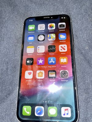iPhone X 256GB Sliver New for Sale in Milpitas, CA