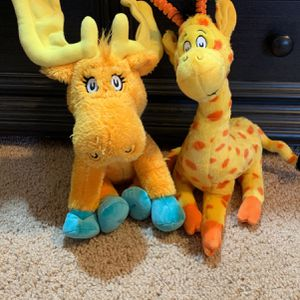 Dr. Seuss stuffed animals - Set Of 2 for Sale in Phoenix, AZ