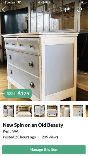 Vintage Dresser and More Sale for Sale in Kent, WA
