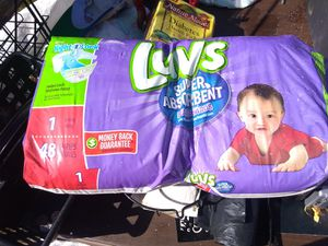Baby's one diapers for Sale in Elma, WA