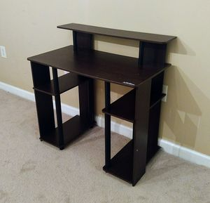Desk With Shelves for Sale in Durham, NC