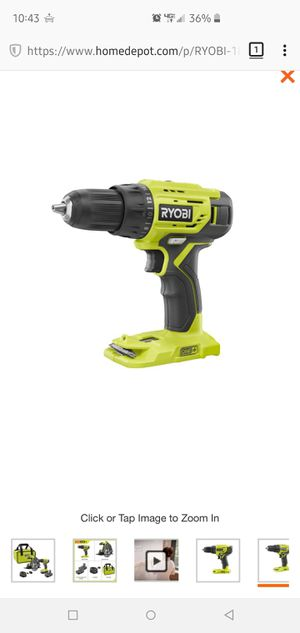 Brand New Never Used 18-Volt ONE+ Lithium-Ion Cordless 1/2 in. heavy duty single sleeve keyless chuck drill/driver for Sale in Escondido, CA
