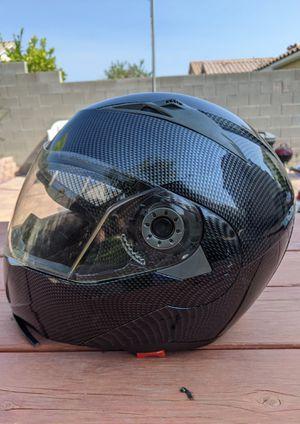 TMS Carbon Fiber Motorcycle Helmet Adult Medium for Sale in North Las Vegas, NV