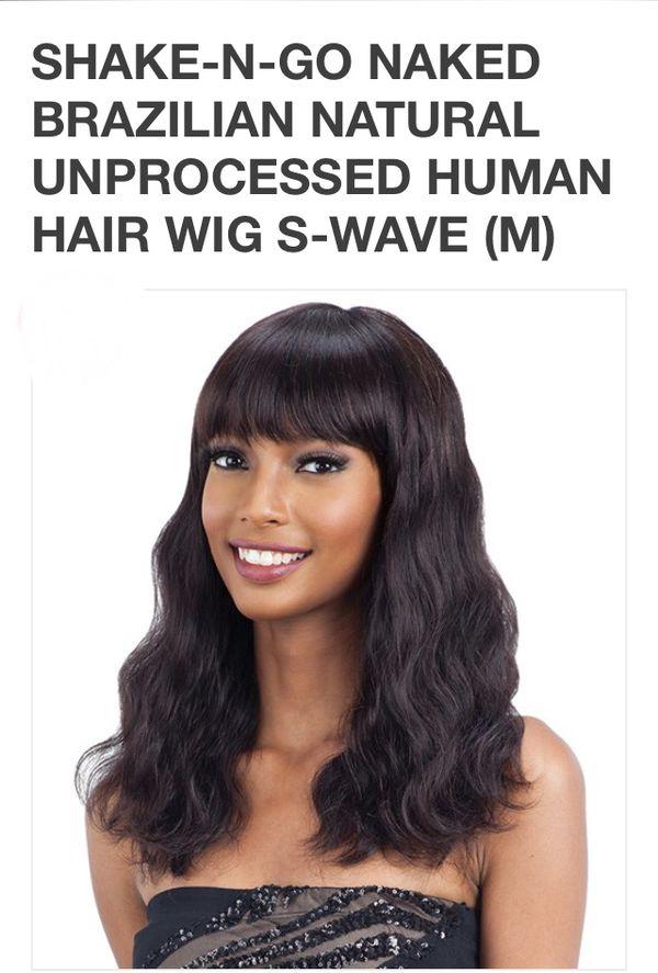Shake-N-Go Naked 100% Brazilian Natural Human Hair Frontal