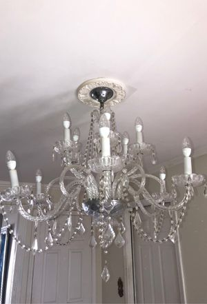 Crystal chandelier for Sale in Sterling Heights, MI