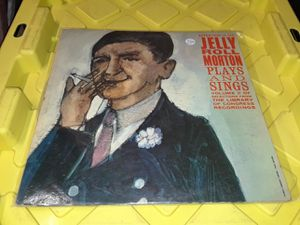 Jelly Roll Morton Vinyl record album Plays and sings for Sale in Downey, CA