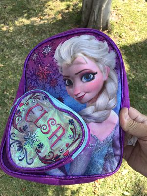 Frozen Elsa girls kids small backpack bag for Sale in Monrovia, CA
