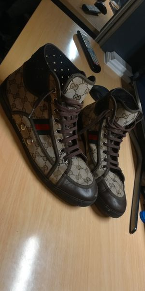 Gucci high top shoes. for Sale in Aurora, CO
