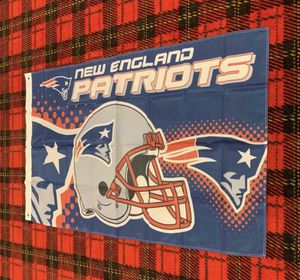Brand new New England Patriots banner flag for Sale in Celina, OH