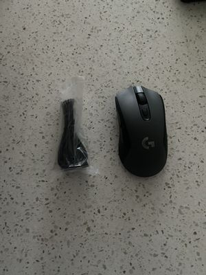 Logitech g603 wireless gaming mouse with accessories for Sale in Milpitas, CA