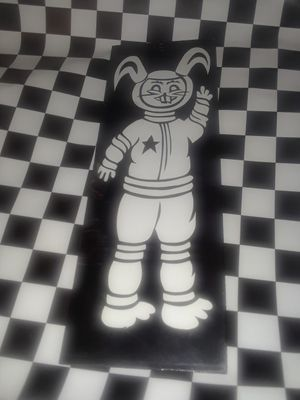 Vintage wooden bunny art for Sale in NC, US