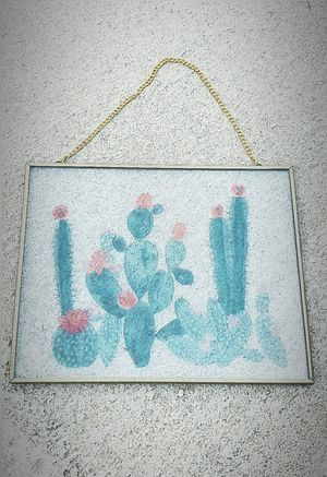 Beautiful Cactus Suncatcher for Sale in Goodyear, AZ