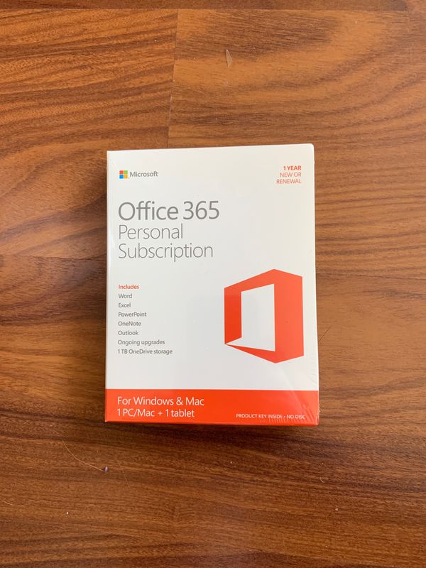 Office 365 Personal - 1 Year
