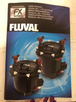 Fluval fx4 filtration system for fish tank for Sale in Glendale, AZ