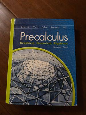 Common core precalculus textbook for Sale in Phoenix, AZ