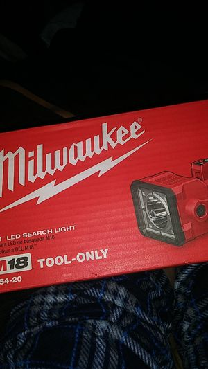 Milwaukie m18 LED search light for Sale in Corona, CA