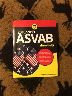 ASVAB for dummies 2018/2019 for Sale in Pittsburg, KS