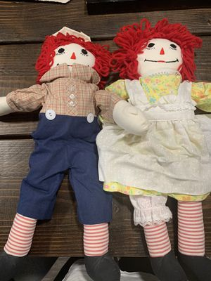Raggedy Ann and Andy for Sale in Acampo, CA