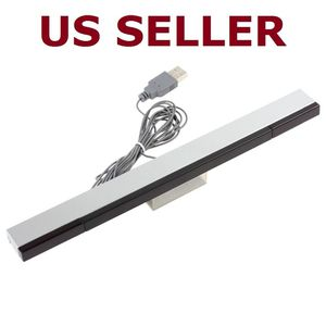 USB Wired infrared Ray IR sensor bar for Nintendo Wii / Wii U / PC + Stand for Sale in Danbury, CT