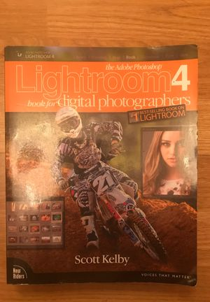 Adobe Photoshop Lightroom 4 - Book for Digital Photographers for Sale in Los Angeles, CA