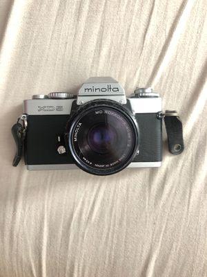 Old Minolta film camera for Sale in Ferndale, MI